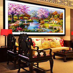 Lukisan Seni Pemandangan Indah Rumah Impian <p>Rp137.000</p> <code>WS-008</code>