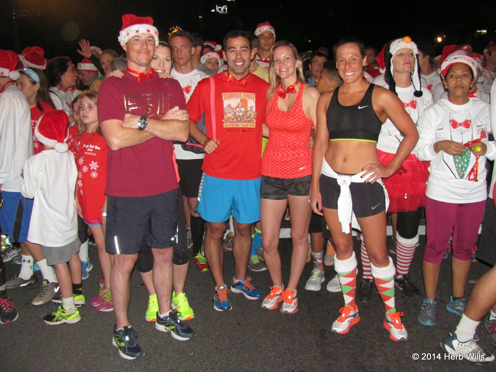 Tallahassee's 2014 Jingle Bell Run