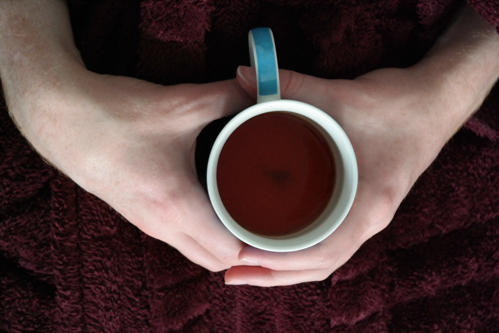 October: Cup of tea