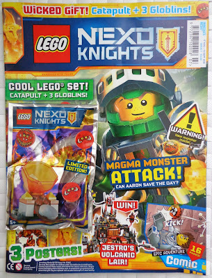LEGO Nexo Knights Magazine Issue 07