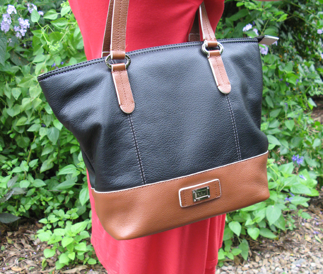 Cellini Leather Handbag ~ Threading My Way