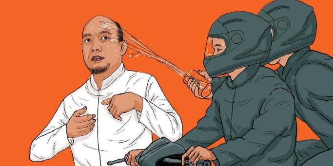 Waduh, Motor di Rekaman CCTV Kasus Novel Ternyata Milik Polisi