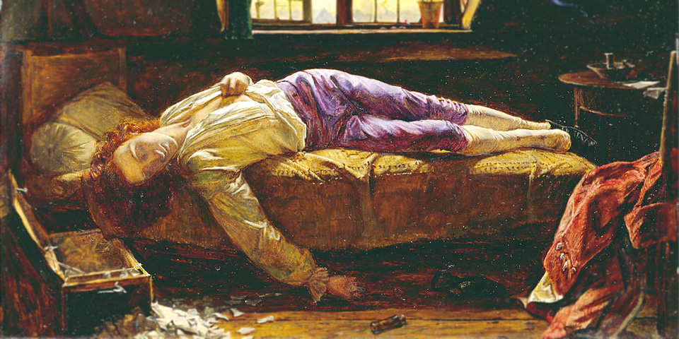 Henry Wallis. The_Death of Chatterton