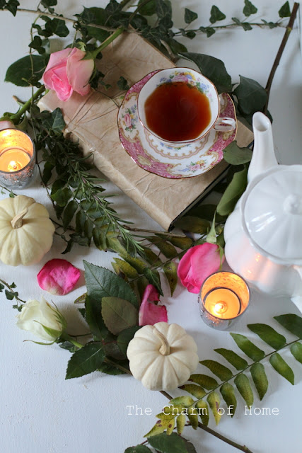 Pink Tea for October: The Charm of Home