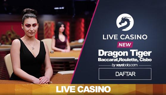 Mainkan Live Casino Online dan Puluhan Games Slot lainnya!