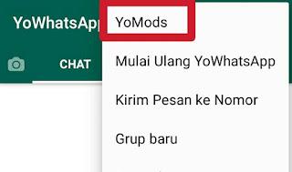 Ganti tema whatsapp mirip iphone