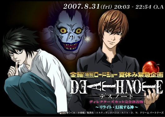 Download Death Note Movie Relight Vision Of God Subtitle Indonesia