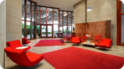 Interior del Hotel Marqués de Riscal
