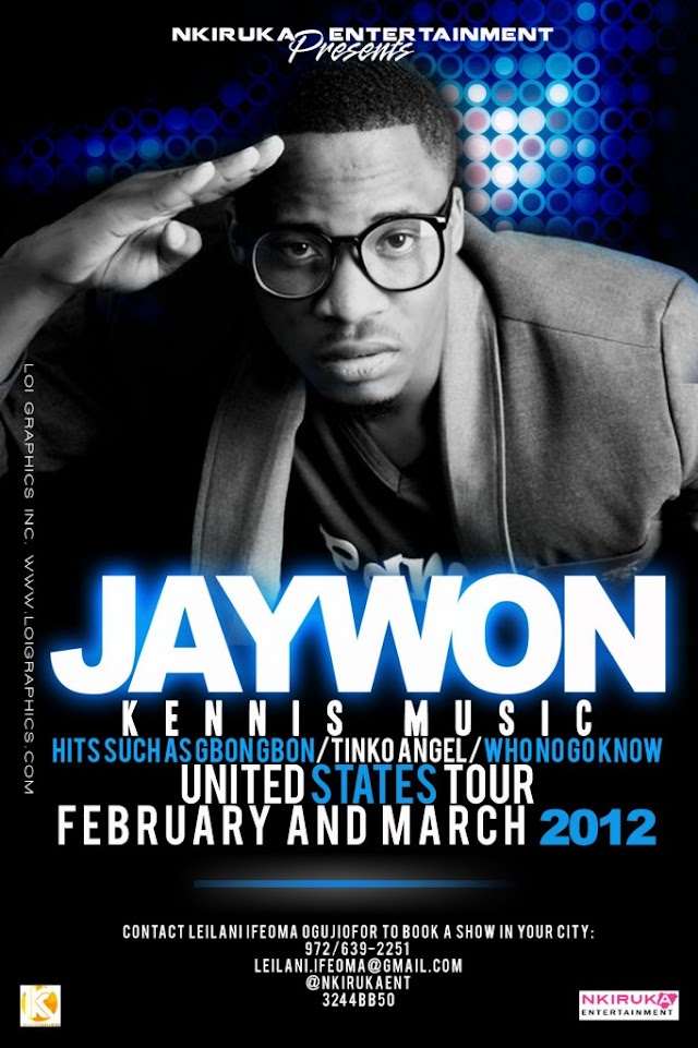 Jaywon Set To Kick Off US Tour