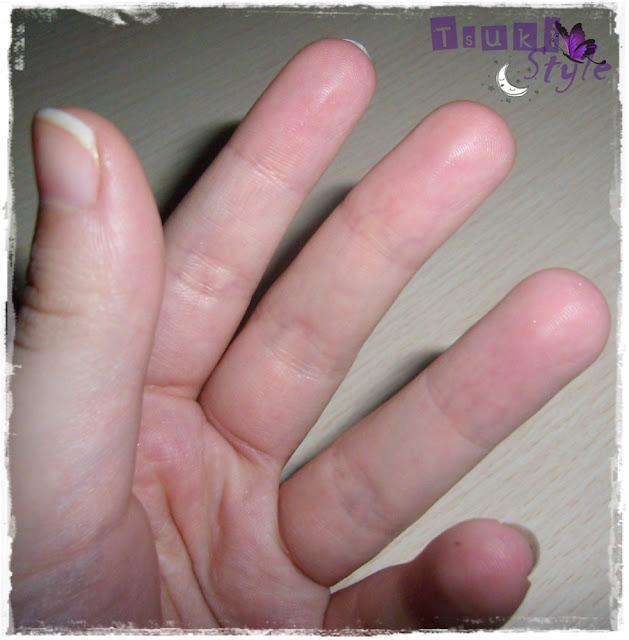 aplicar con los dedos