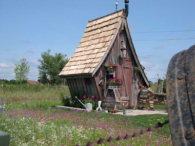 unusual garden shed