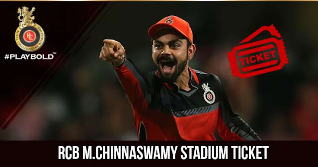 IPL 2018 Royal Challengers Bangalore M.Chinnaswamy Stadium Ticket Booking: Cost and Price
