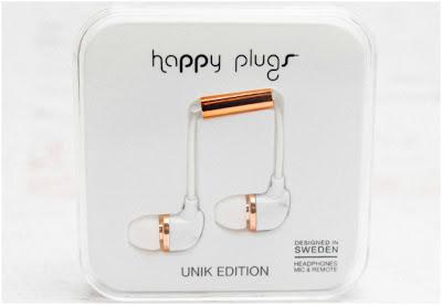 Happy Plugs Marble Carrara In-Ear Headphones