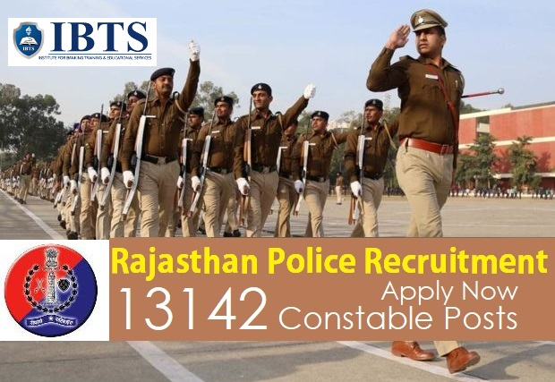 Rajasthan Police Recruitment 2018, 13142 Constable Posts, Apply Now