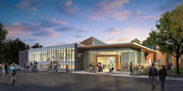 Architects draft design of renovated Peterborough Public Library