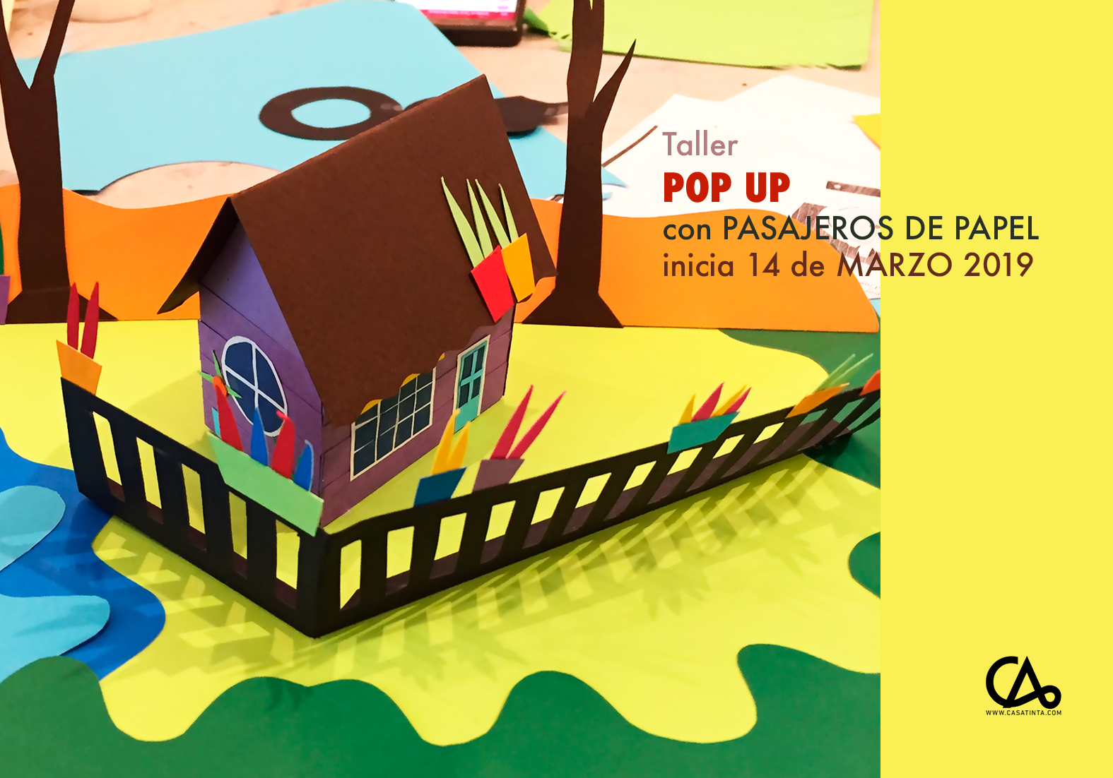 POP UP // 14 DE MARZO