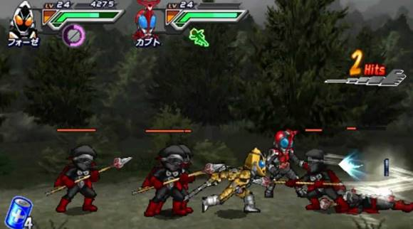 All Kamen Rider: Rider Generation 2 PPSSPP ISO + DATA