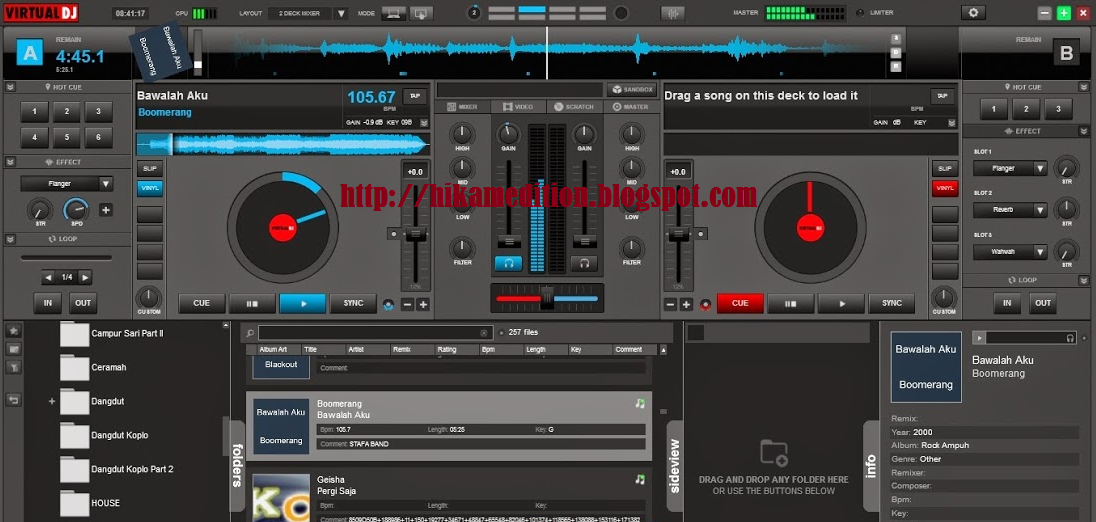 Download Atomix Virtual DJ Pro 8 Dan Crak