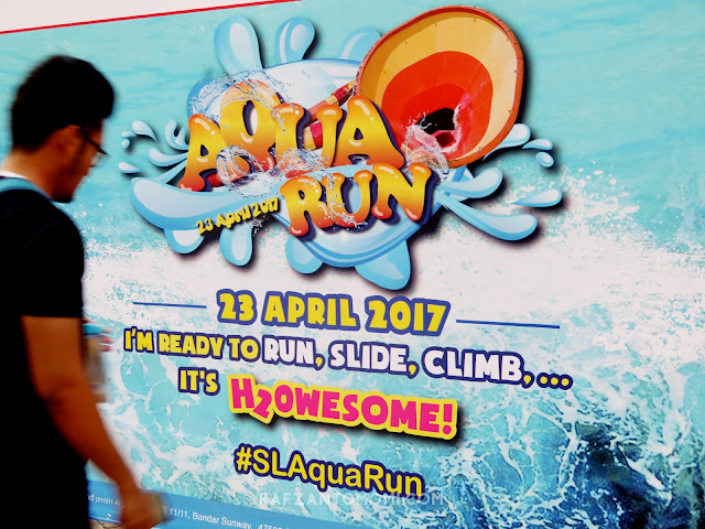 Sunway Lagoon Aqua Run 2017