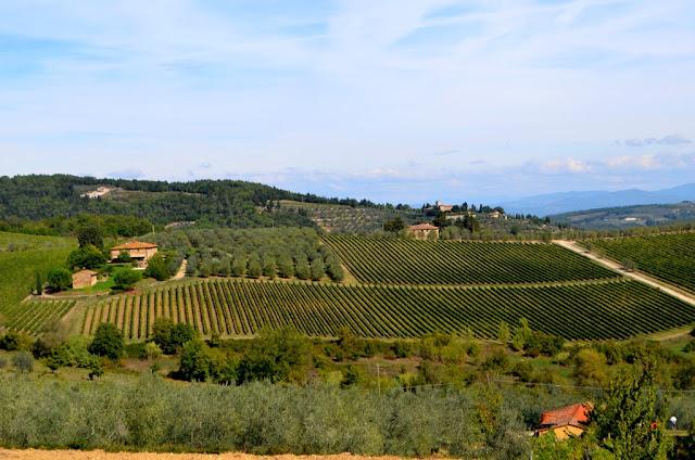 Toskania- Drogą Chianti prosto do Sieny