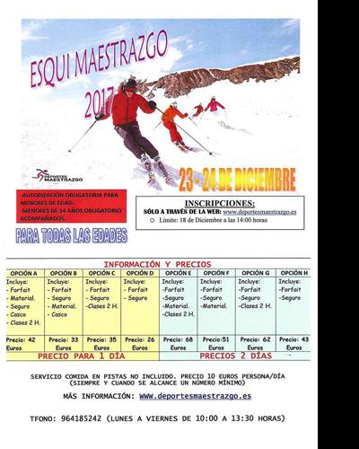 Esquí Maestrazgo 2017