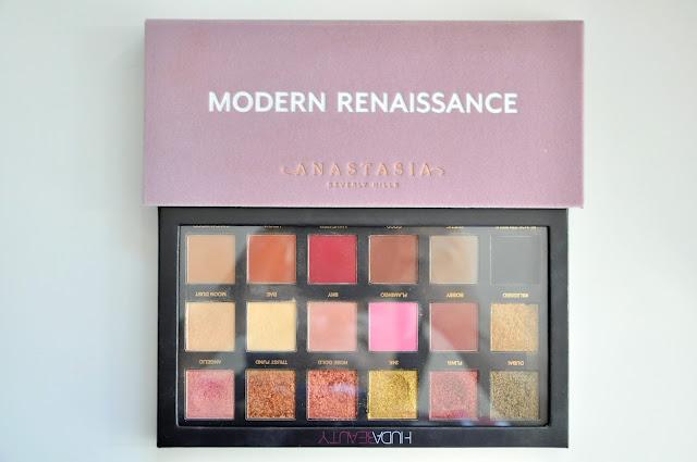 huda beauty rose gold i anastasia beverly hills modern renaissance