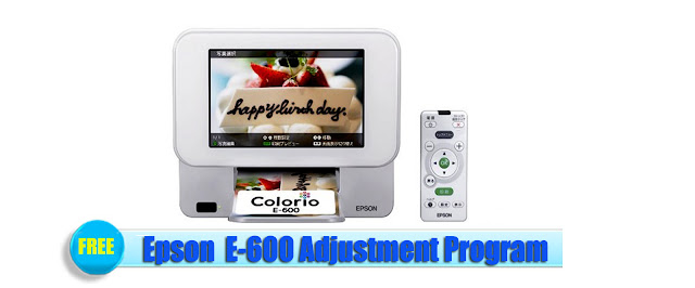 Epson E-600 Adjustment Program