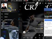 BBM Mod Cristiano Ronaldo Transparan Full DP V3.2.0.6 Apk (BBM Mod CR7 realmadrid)