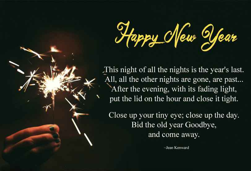 happy new year 2019 poems new year poetry prayers for kids