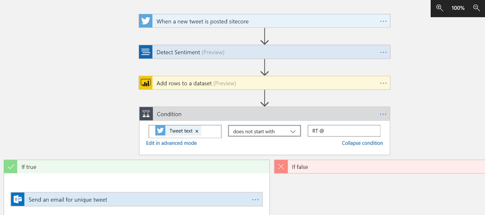 Build a Twitter Dashboard with Azure Logic App and PowerBI | always