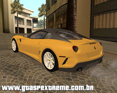 Ferrari 599 GTO 2010 para grand theft auto
