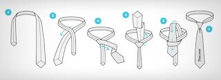 cara memakai dasi sma yang benar dan rapi simple