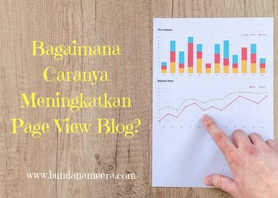 Bagaimana Caranya Meningkatkan Page View Blog?