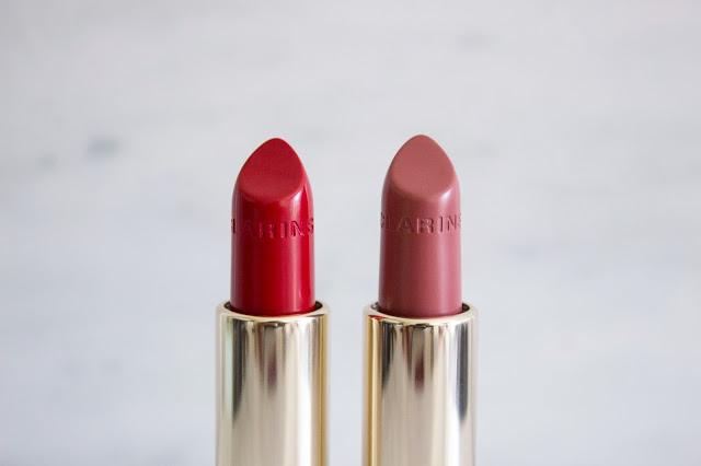 rouges à lèvres clarins soft berry joli rouge
