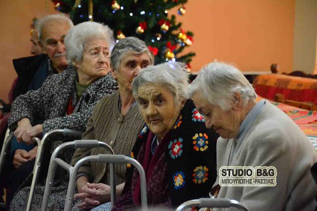 Επίσκεψη μαθητών 2ου Γυμνασίου Ναυπλίου στο Γηροκομείο της πόλης