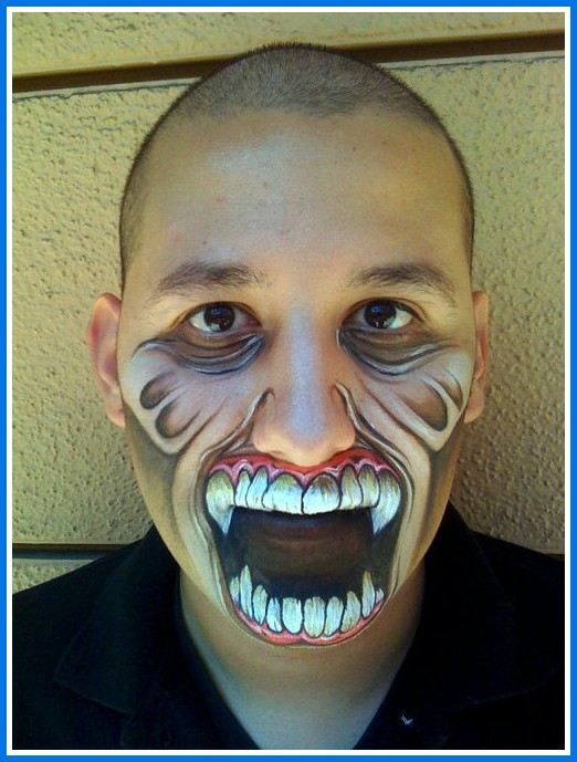 Halloween Makeup Ideas For Guys.20 Halloween Makeup Ideas For Guys To Look Terrifying On