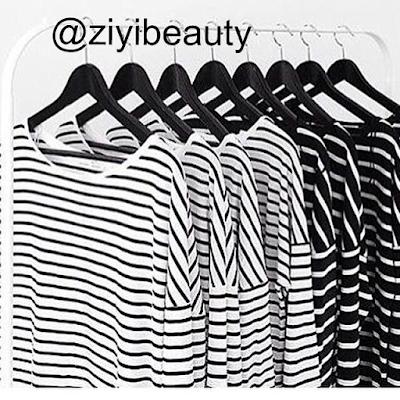 borong stripe shirt long murah giler, borong stripe shirt long murah, borong long top, borong blouse murah, borong stripe top, borong top zara murah, borong tshirt top zara, ziyibeauty, ziyi boutique,
