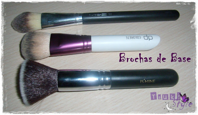 brochas base maquillaje