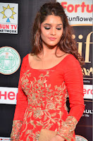 Ritika in sindoori Red Dress at IIFA Utsavam Awards 2017  Day 2  Exclusive 12.JPG