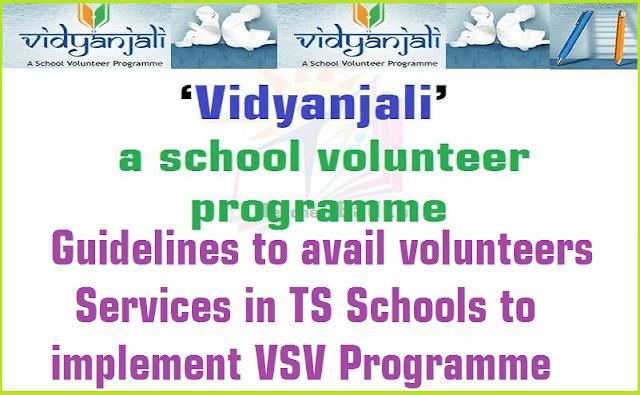 Guidelines,,TS Schools,VSV Programme