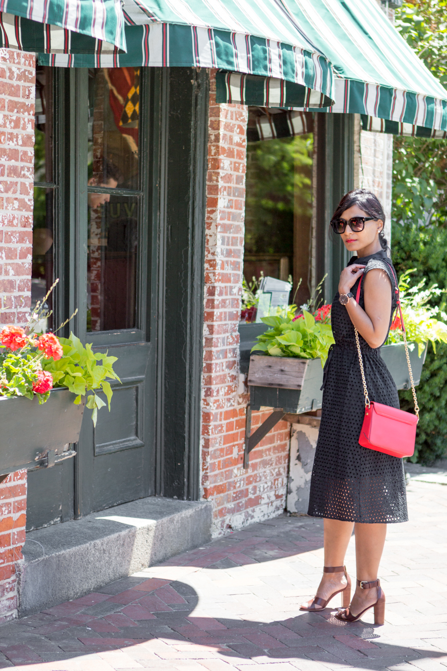 summer style, summer essentials, classic, eyelet, work style, office style, corporate chic, work to weekend, casual dress, cluse, ann taylor, whowhatwear, target style, affordable style, outfit under $100, boston blogger, street style, newburyport, boston summer, petite fashion, style tips, outfit ideas
