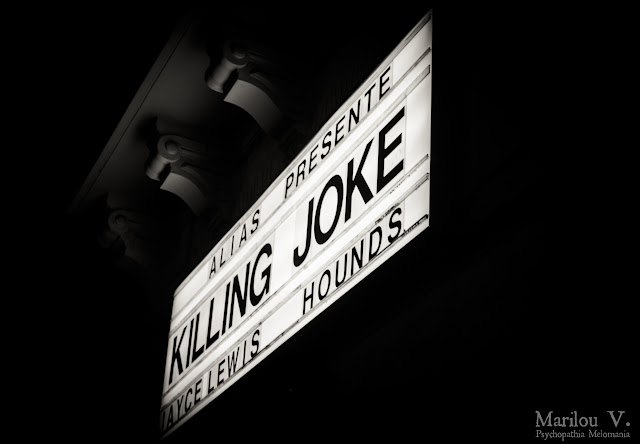 Killing Joke / Hounds / Jayce Lewis @ Bataclan, Paris 20/03/2013