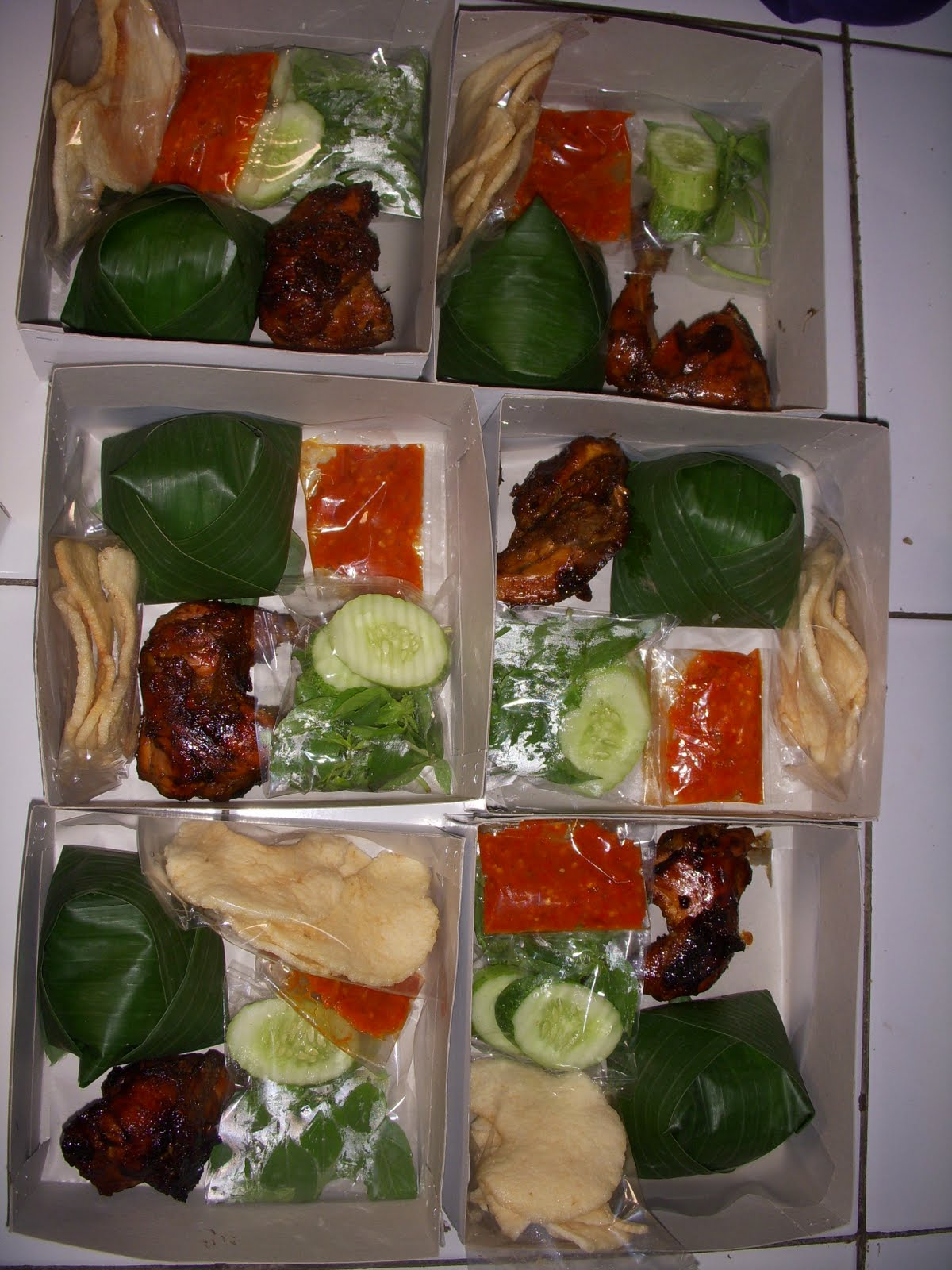 Paket Nasi Box Rp.28.000 - Devista Catering