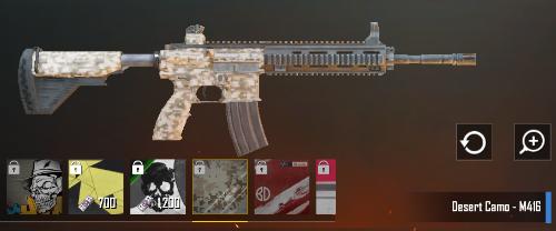 Cara Mendapatkan Skin Senjata M416 di PUBG Mobile