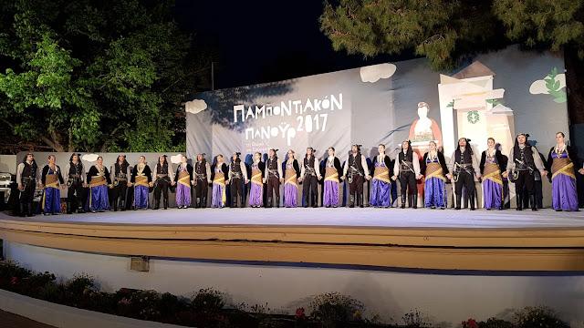 Παραδοσιακοί χοροί από την Ελλάδα παρουσιάστηκαν στο Παμποντιακόν Πανοΰρ 2017