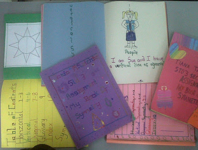 Construction Paper book projects