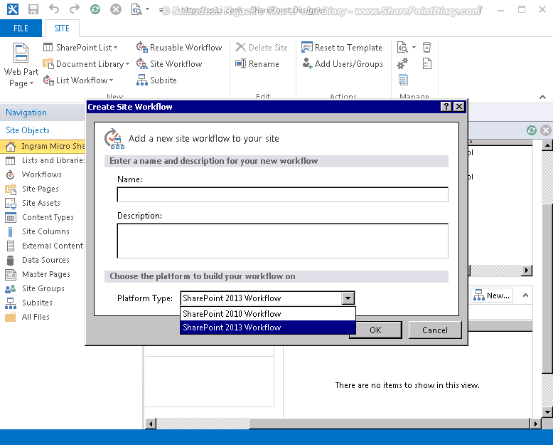 sharepoint designer 2013 Platform type sharepoint 2013 workflow