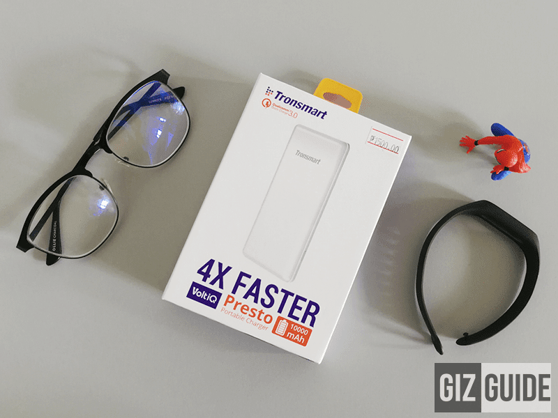 All mightiness banks were designed to accuse our devices fifty-fifty on the larn Tronsmart Presto PB310 Review - Reliable And Affordable Universal Quick Charge Power Bank