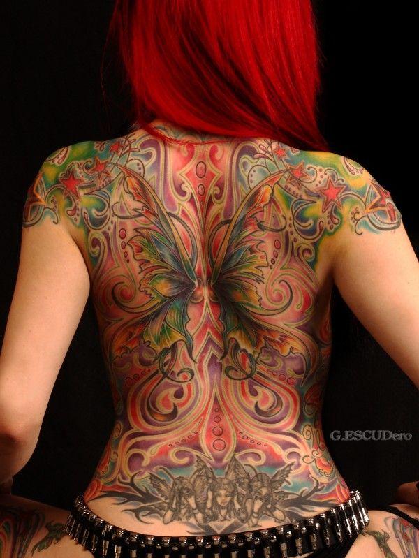 tatuajes llamada chica fantasía