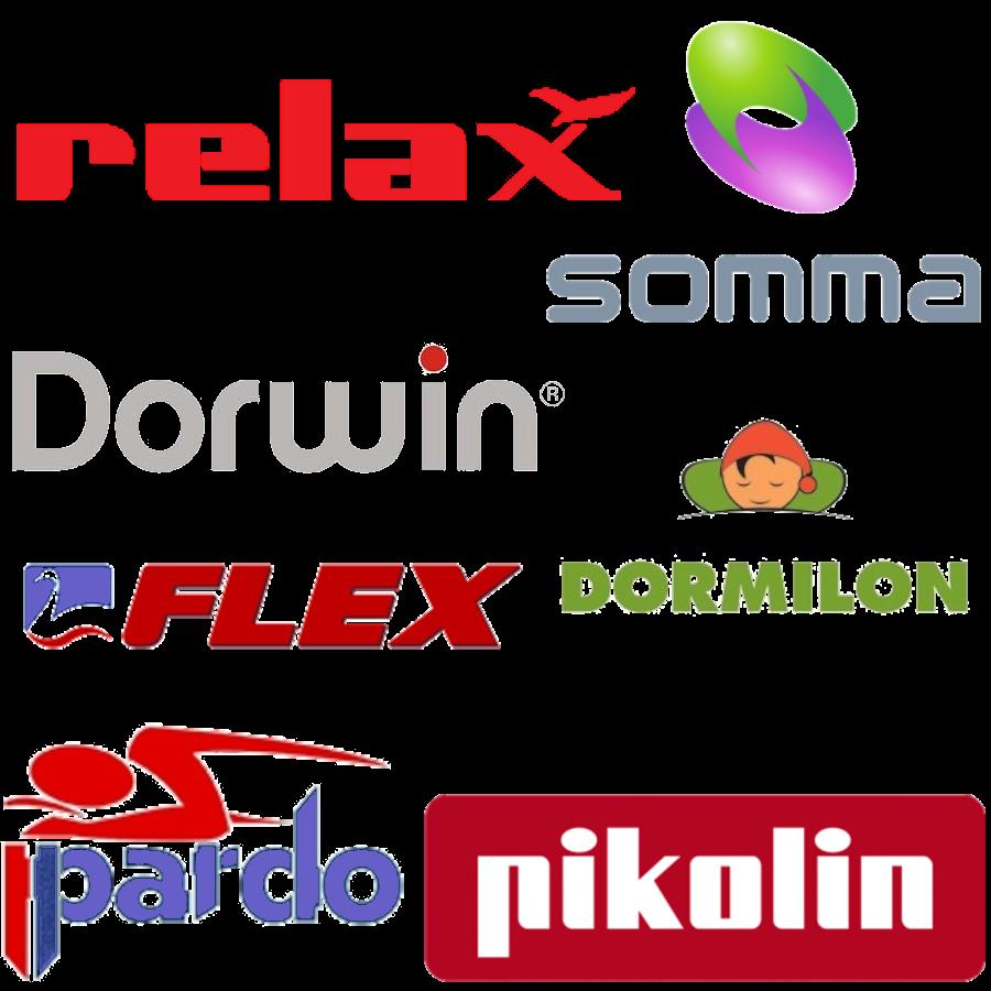Colchon plus logotipos de marcas de colchones y complementos - Precios de somieres y colchones ...